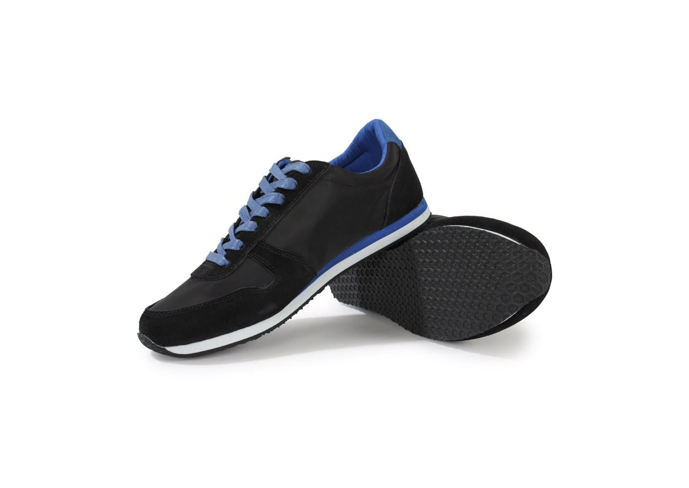 Shoes Men Casual  | Black + Blue