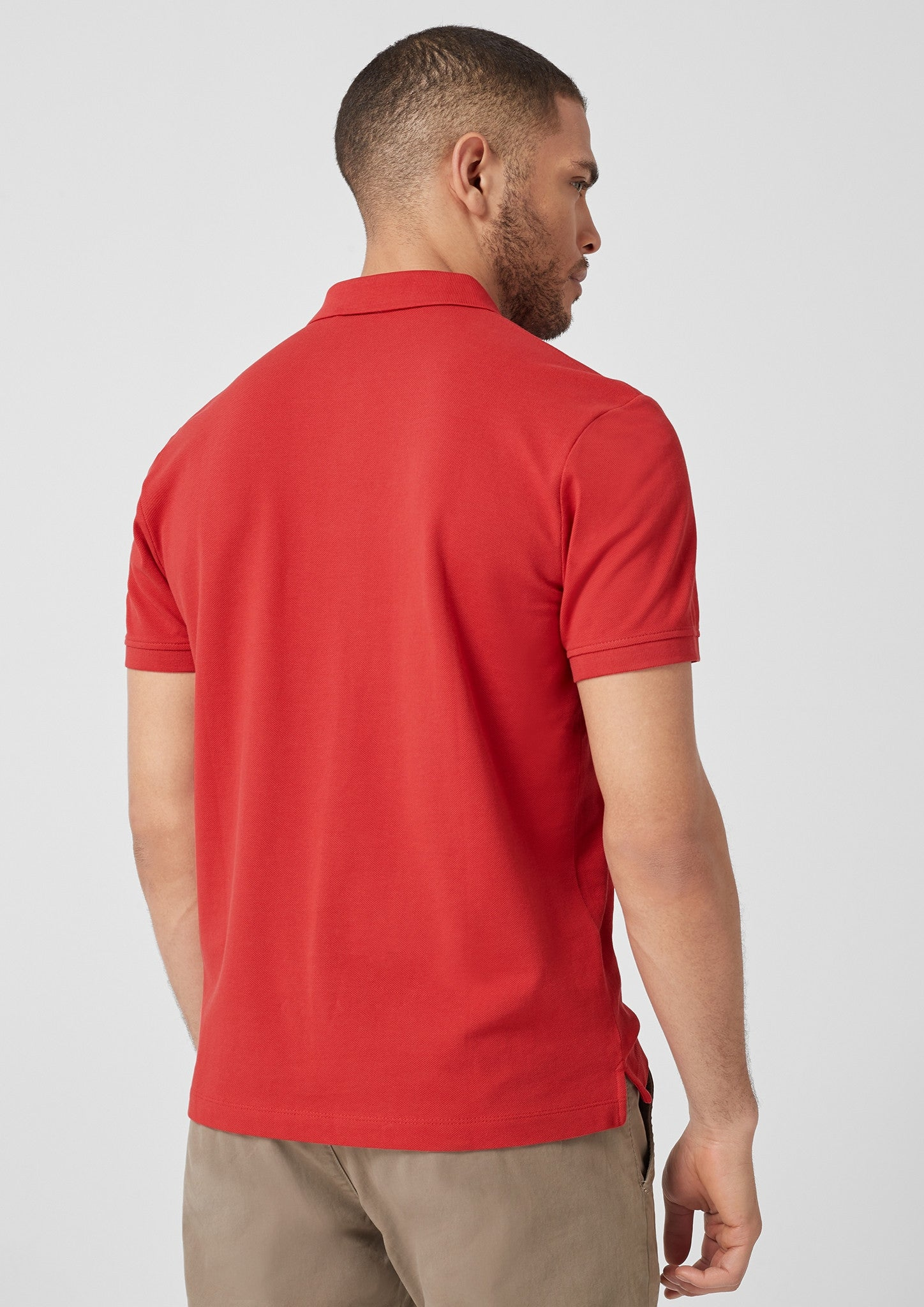 Polo Basic Plain | Cherry