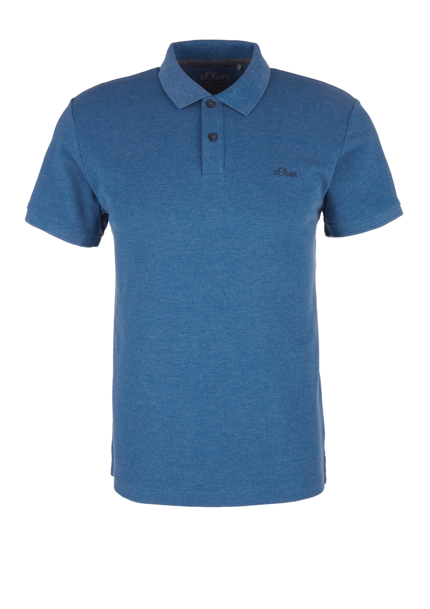Polo Basic Plain | Postcard Blue Melange