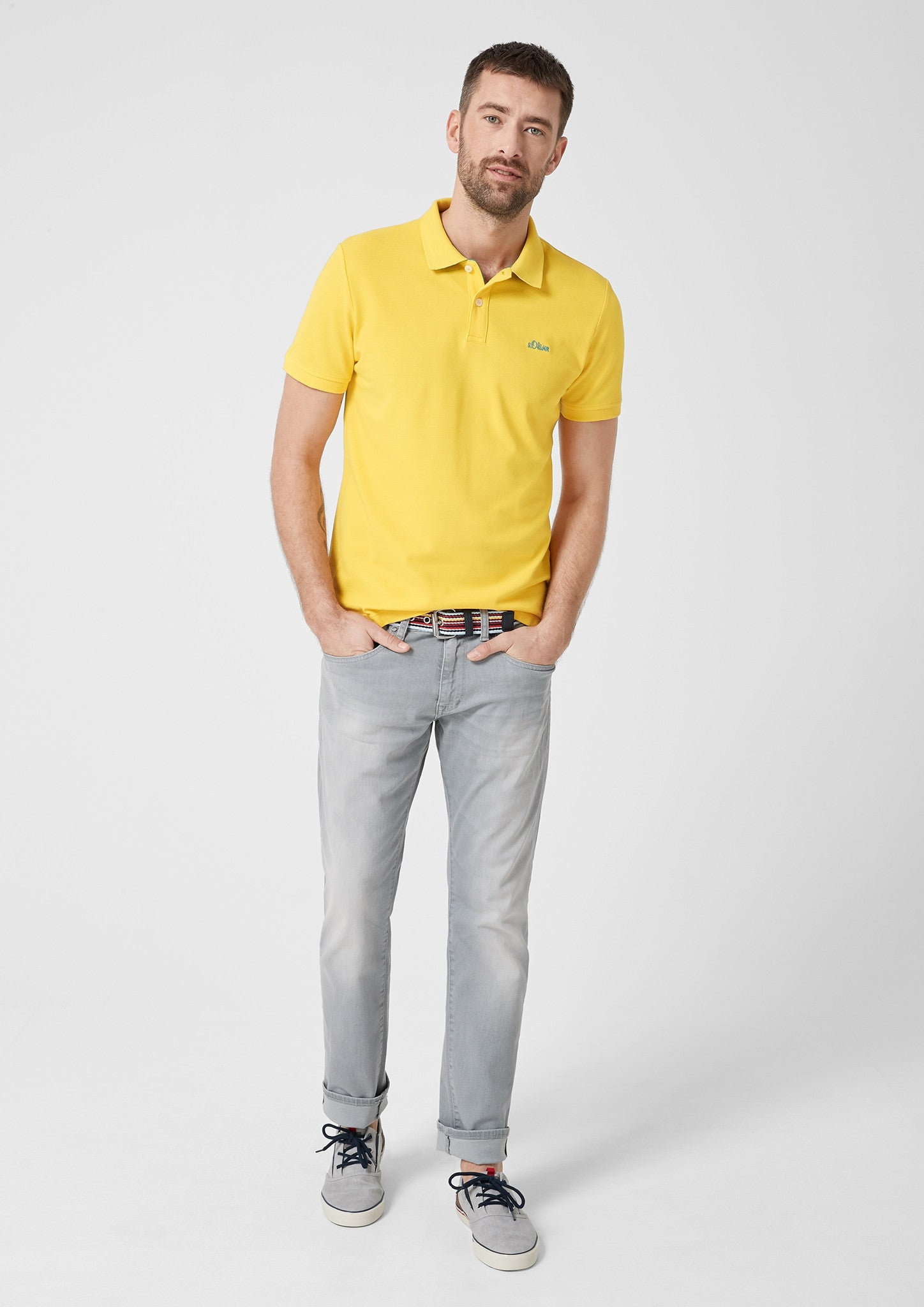 Polo Basic Plain | Yellow