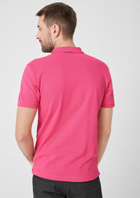 Polo Basic Plain | Sugar Pink