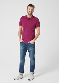 Polo Basic Plain | Cool Grape