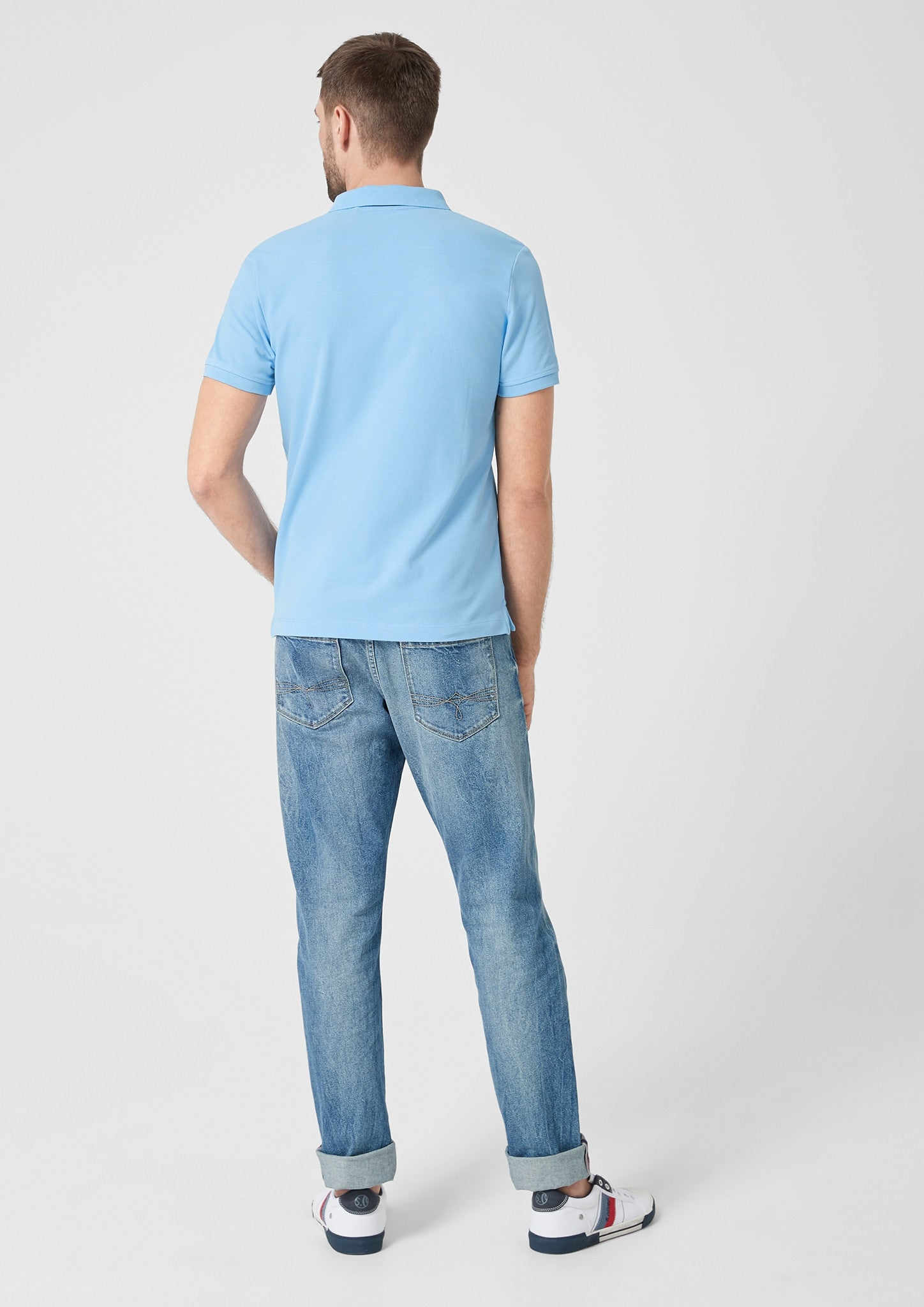 Polo Basic Plain | Spring Blue