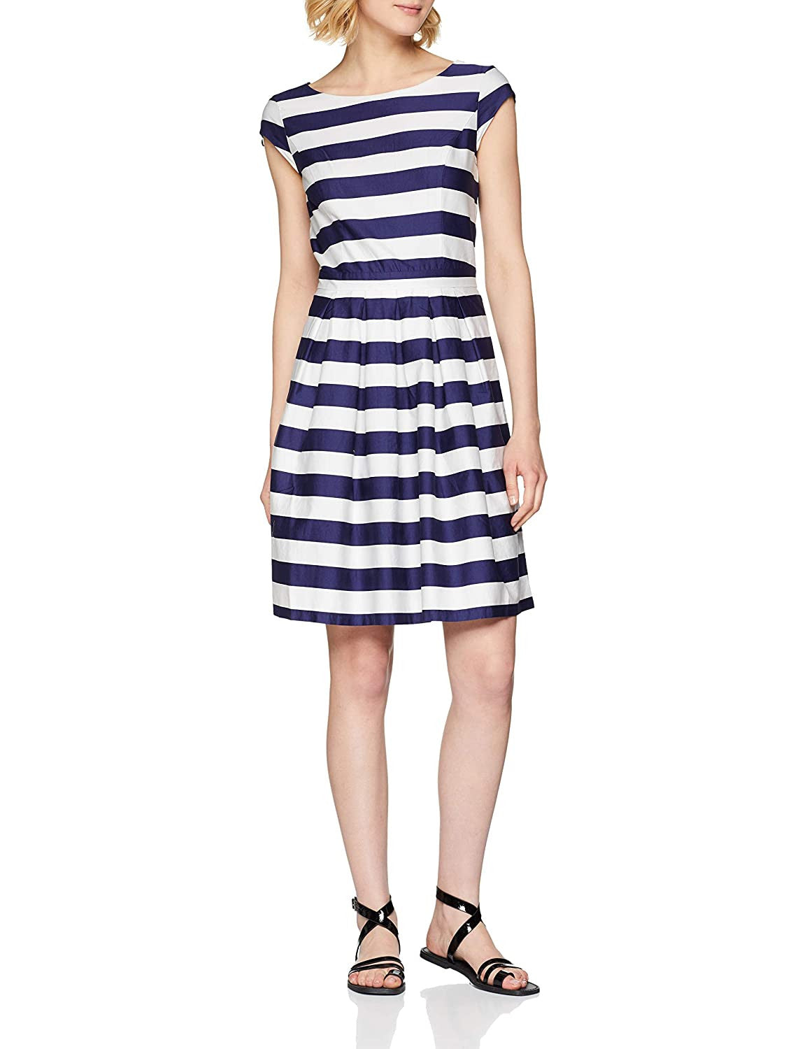 Dress with Stripes | Navy Stripes
