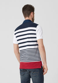 Polo with Stripes | White stripes