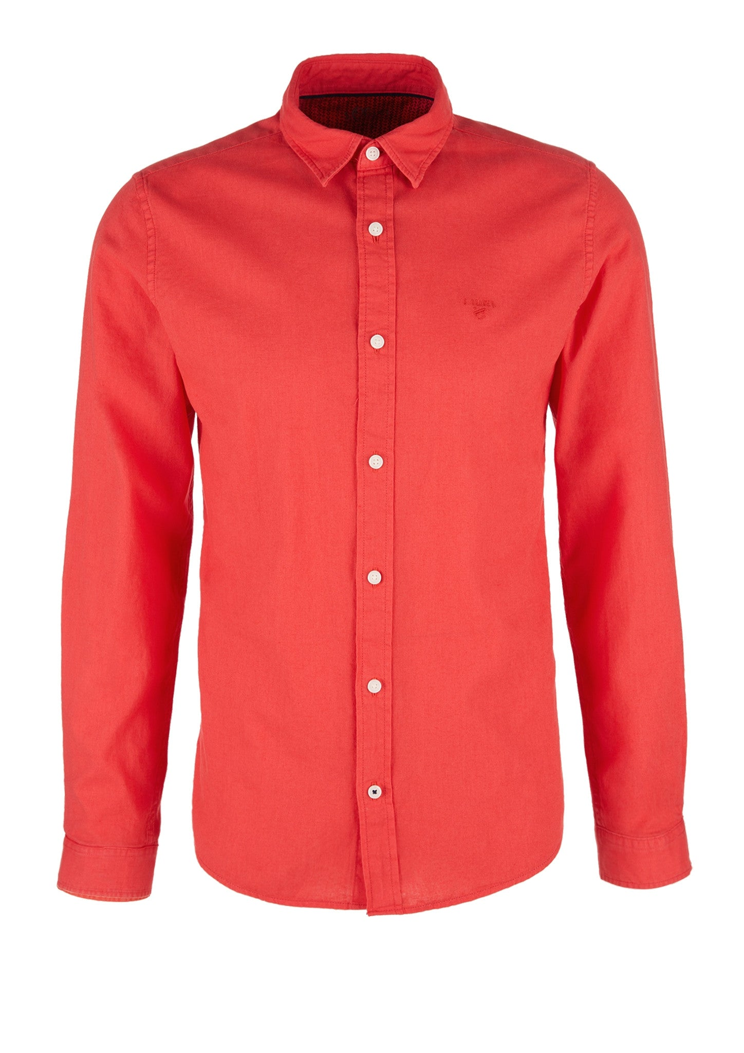 Shirt Linen Long Sleeve | Cherry