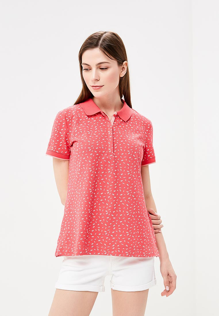 Polo All Over Print | Bittesweet Red Aop