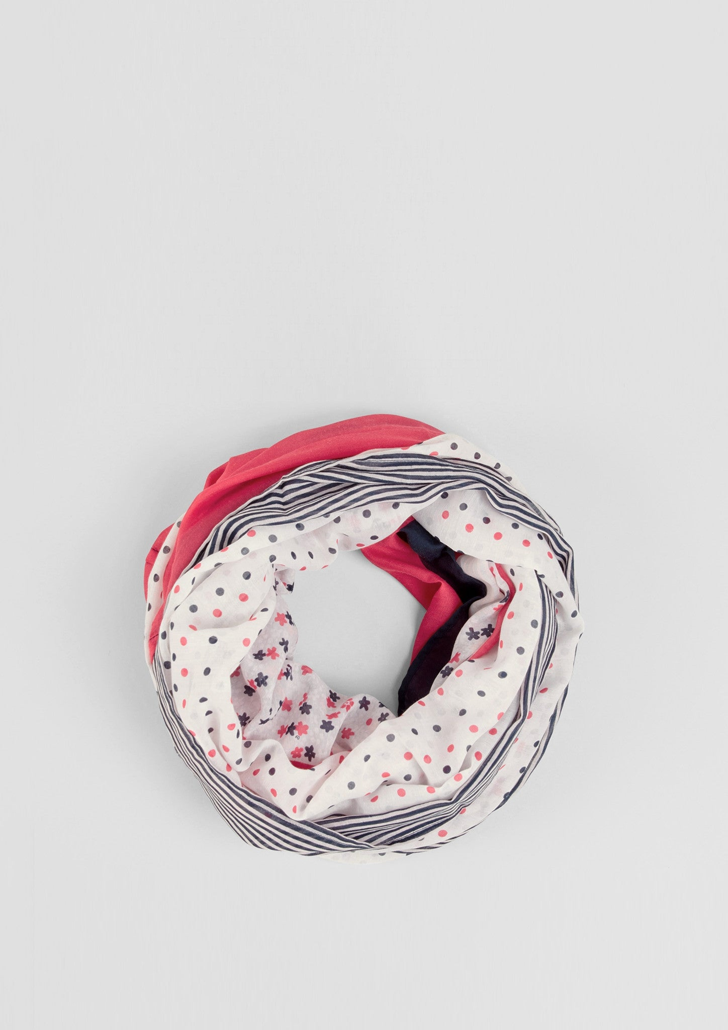 Scarf All Over Print | Purple/pink Aop