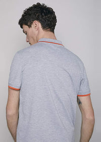 Polo Men Short Sleeve | Grey