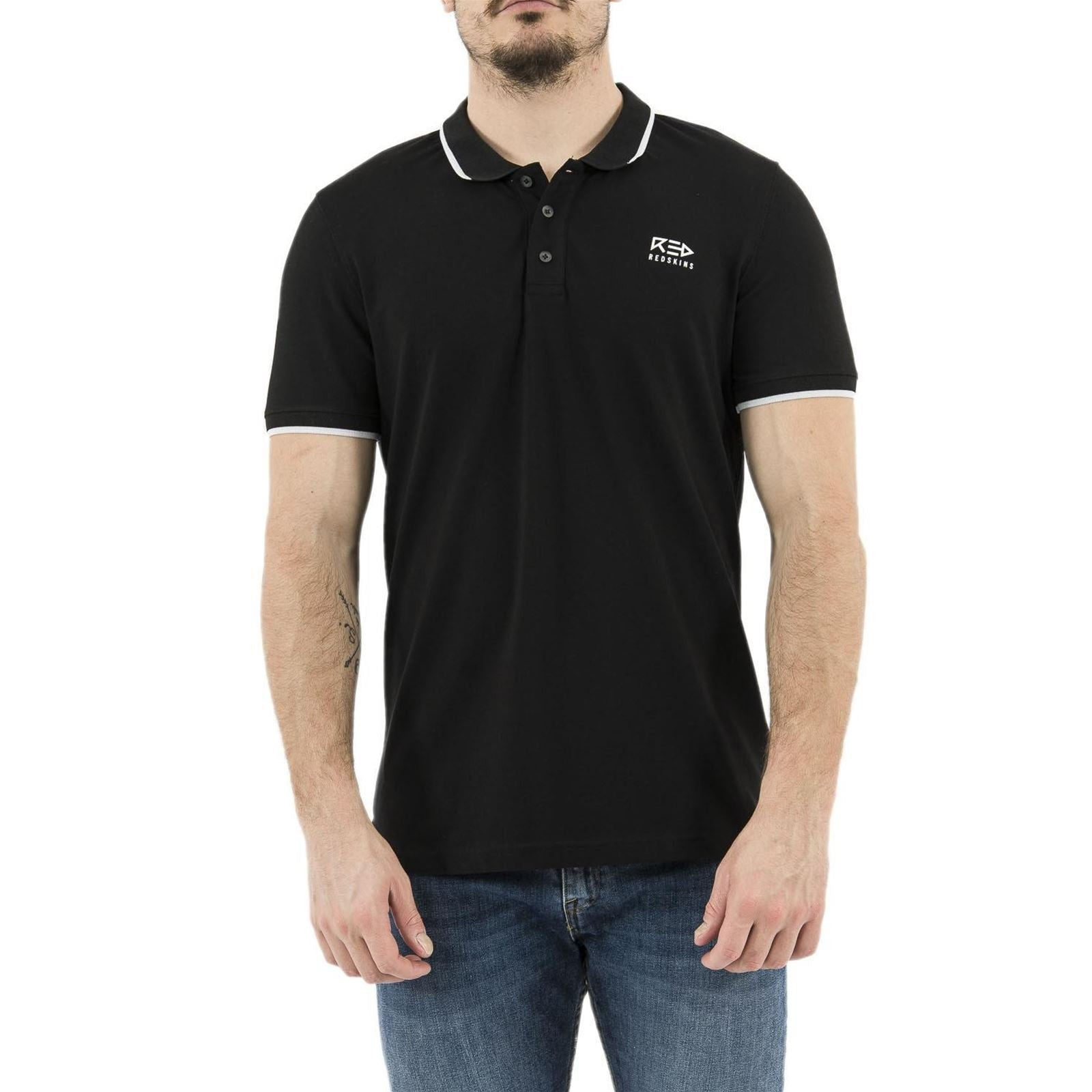 Polo Men Short Sleeve | Black