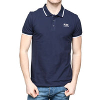 Polo Men Short Sleeve | Indigo Blue