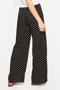 Pants | Black-dots Print