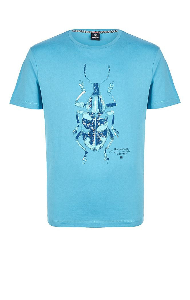 T.Shirt with Print | Blue