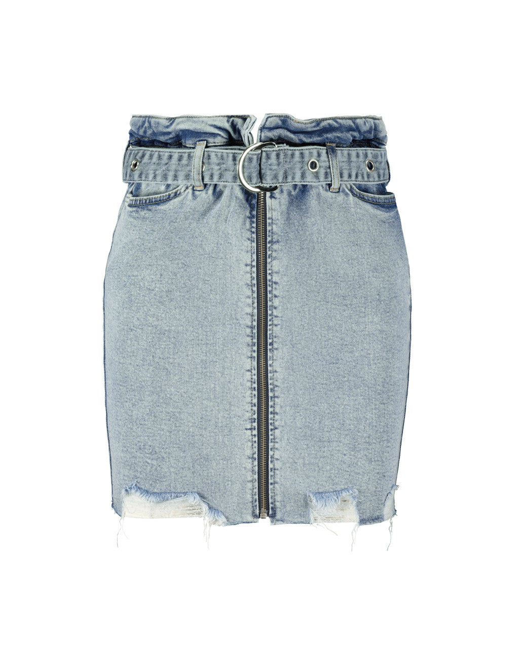 Denim Mini Skirt | Blue
