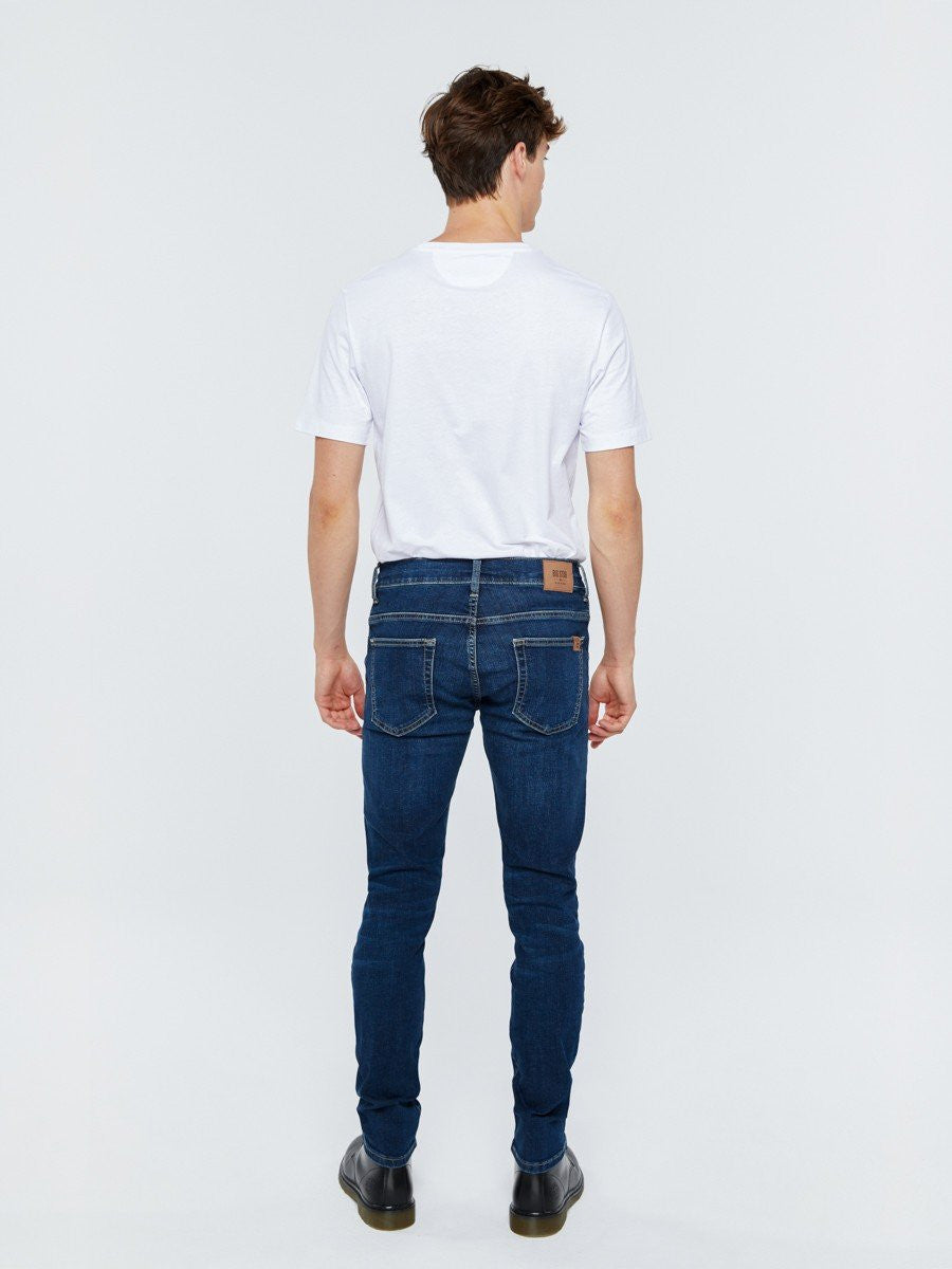 Jeans Skinny Fit - Low Waist | Dark Blue Denim