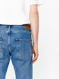 Jeans Tapered Fit - High Waist | Blue Denim