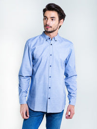 Shirt Plain | Blue