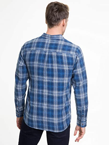 Men's Shirt Long Sleeve | Blue