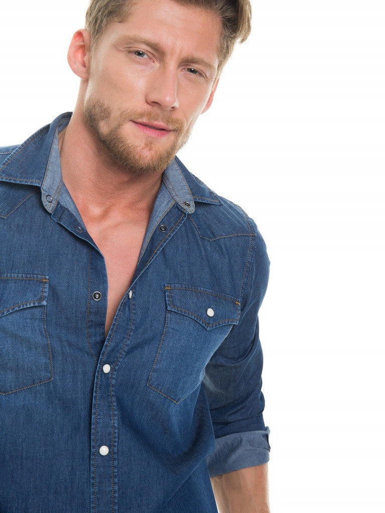 Denim Shirt | Denim Blue