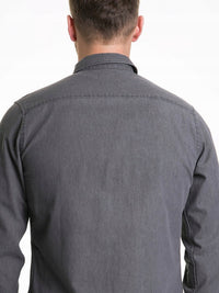 Men's Shirt Long Sleeve | Grey