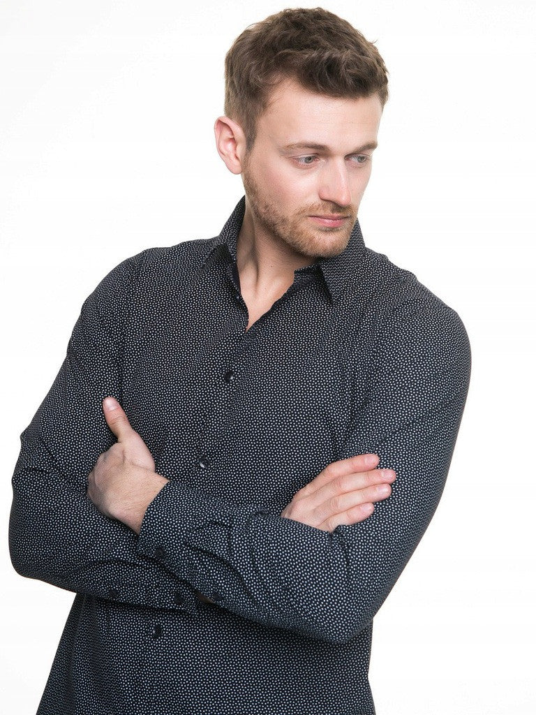 Men's Shirt Long Sleeve | Black