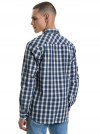 Shirt Long Sleeve Checked | Navy Checks
