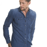 Shirt Long Sleeve Denim | Blue Jeans
