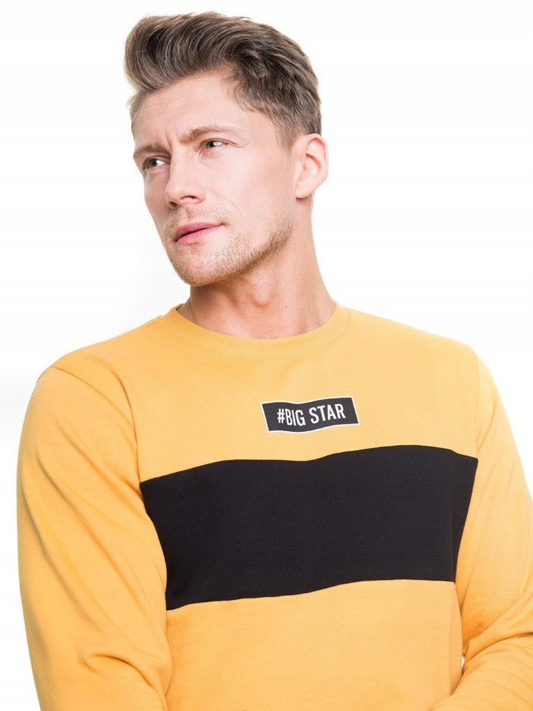 Men's Sweatshirt | Yellow