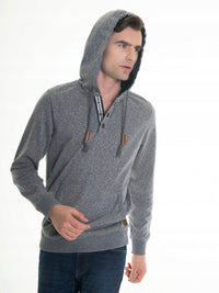 Hooded Sweatshirt | Grey