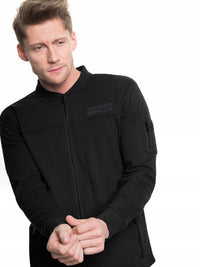 Zipped Sweatshirt | Black