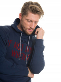 Hooded Sweatshirt | Navy Blue