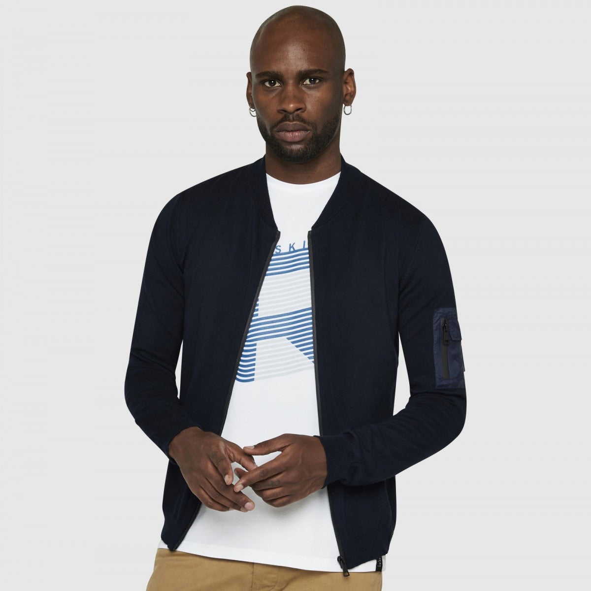 Men's Cardigan | Dark Navy