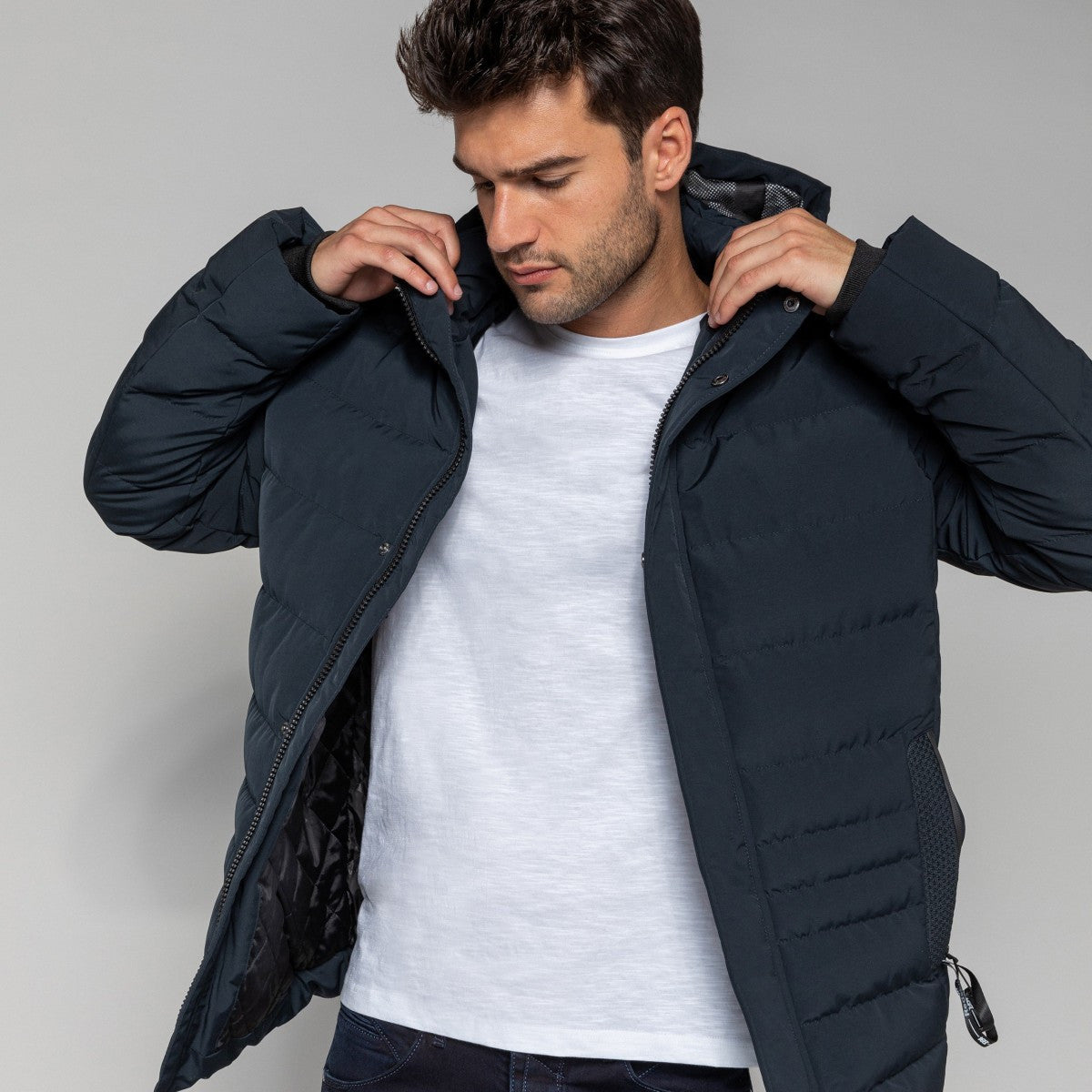 Men's down Jacket | Navy