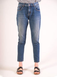 Jeans Boyfriend - Low Rise | Simple Undamaged Wash