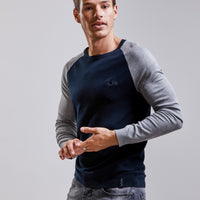 Men's Sweater | Grey and Black