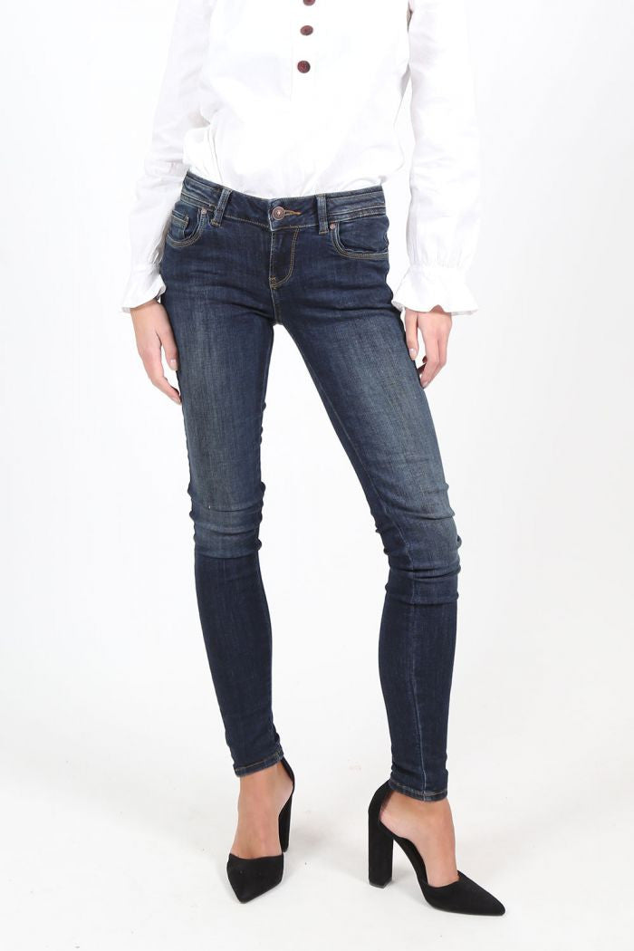 Jeans Skinny fit - Low Rise | Reba Undamaged Wash