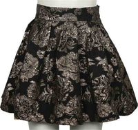 Skirt | Black - Gold