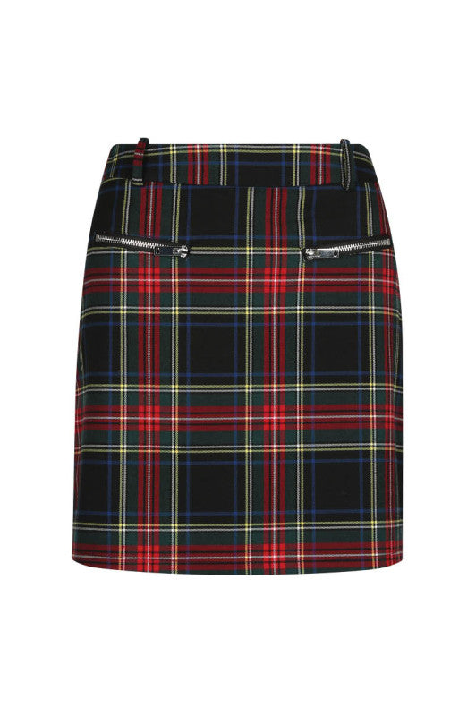 Mini Skirt | Scottish Print