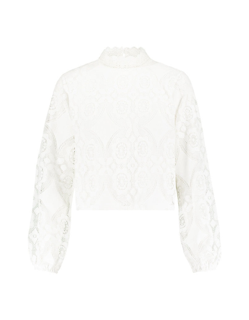 Lace Blouse | Off White