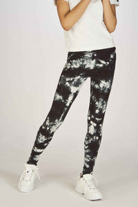 Leggings | Black - White