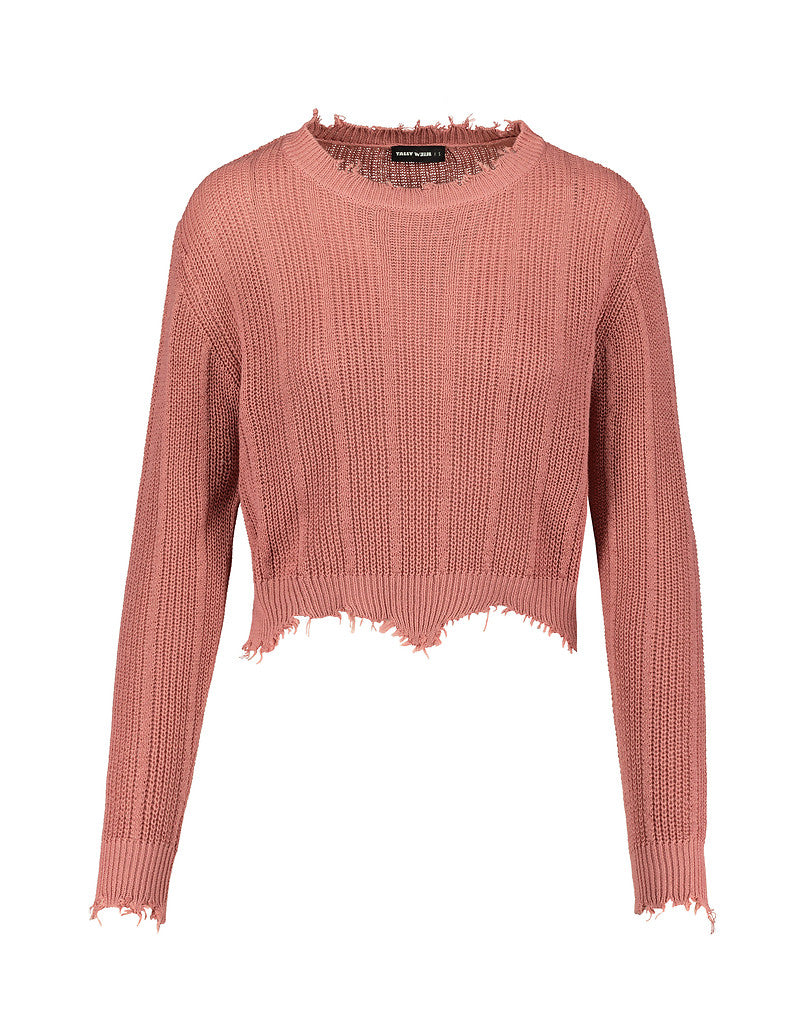 Destroyed Jumper | Pretty Rose