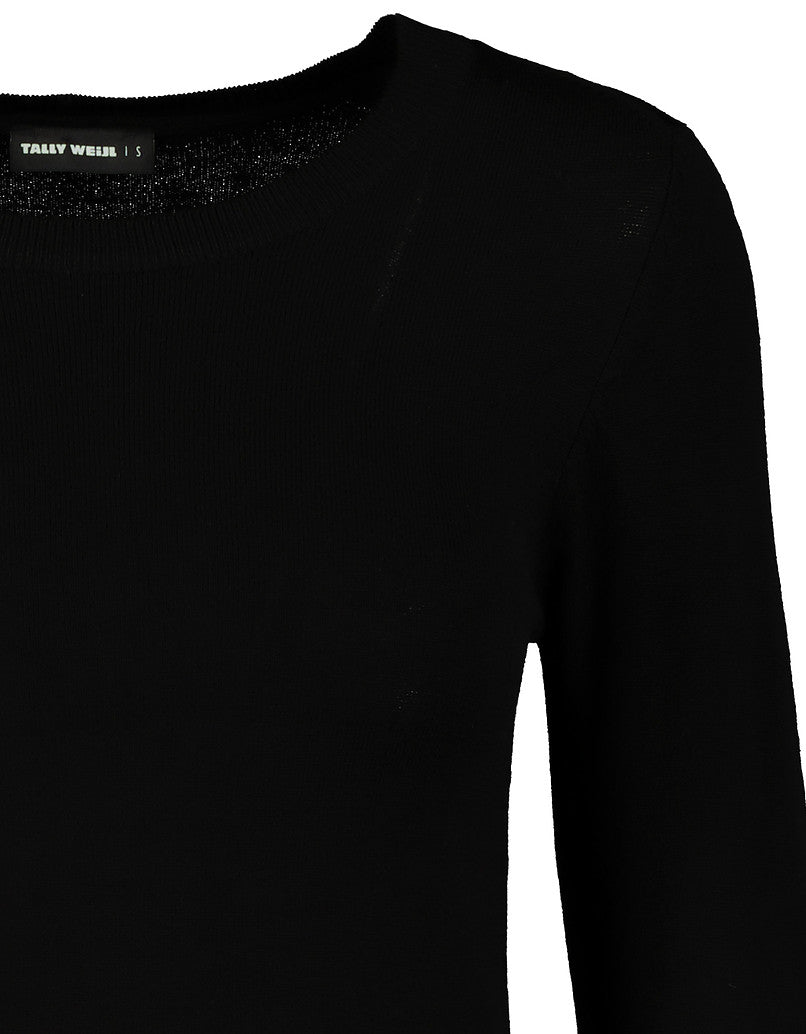Fitted Jumper | Black