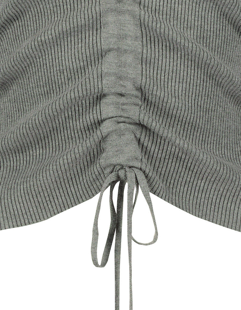 Twisted Jumper | Gris Chine