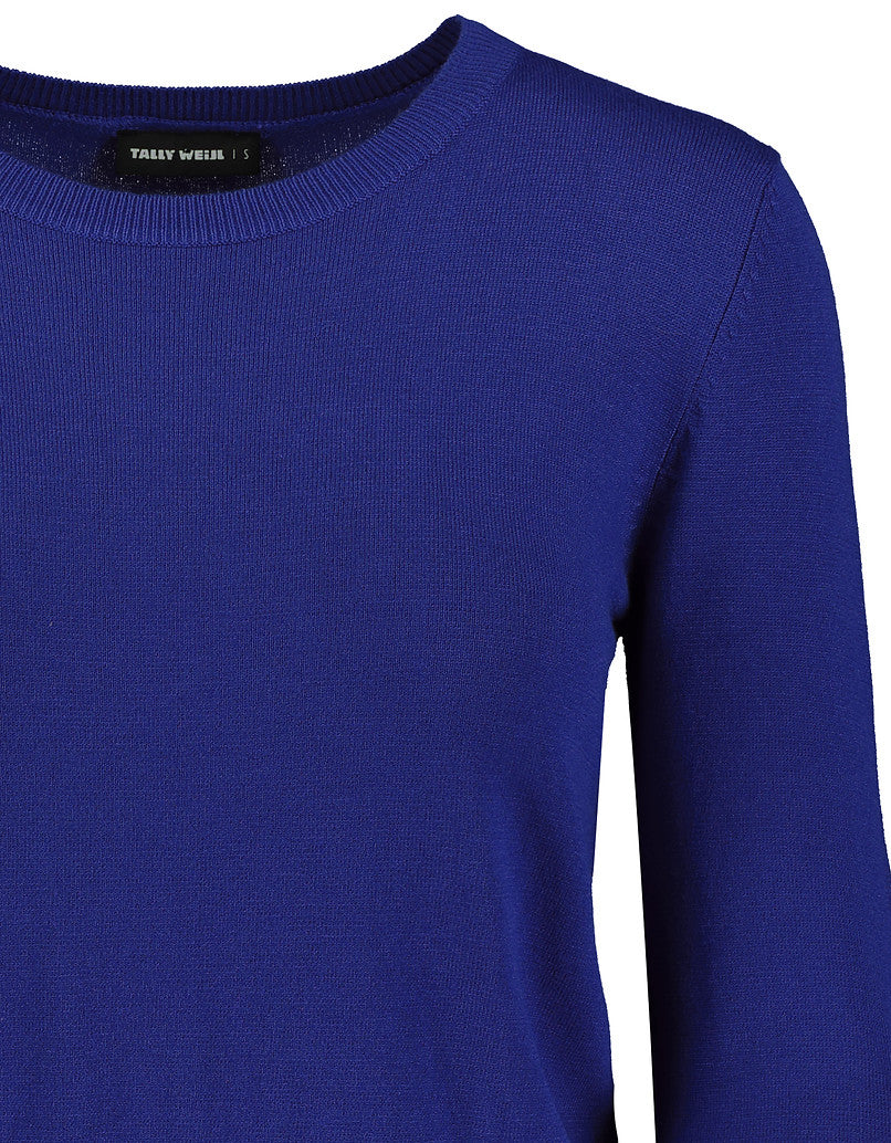 Cropped Jumper | Nebulas Blue