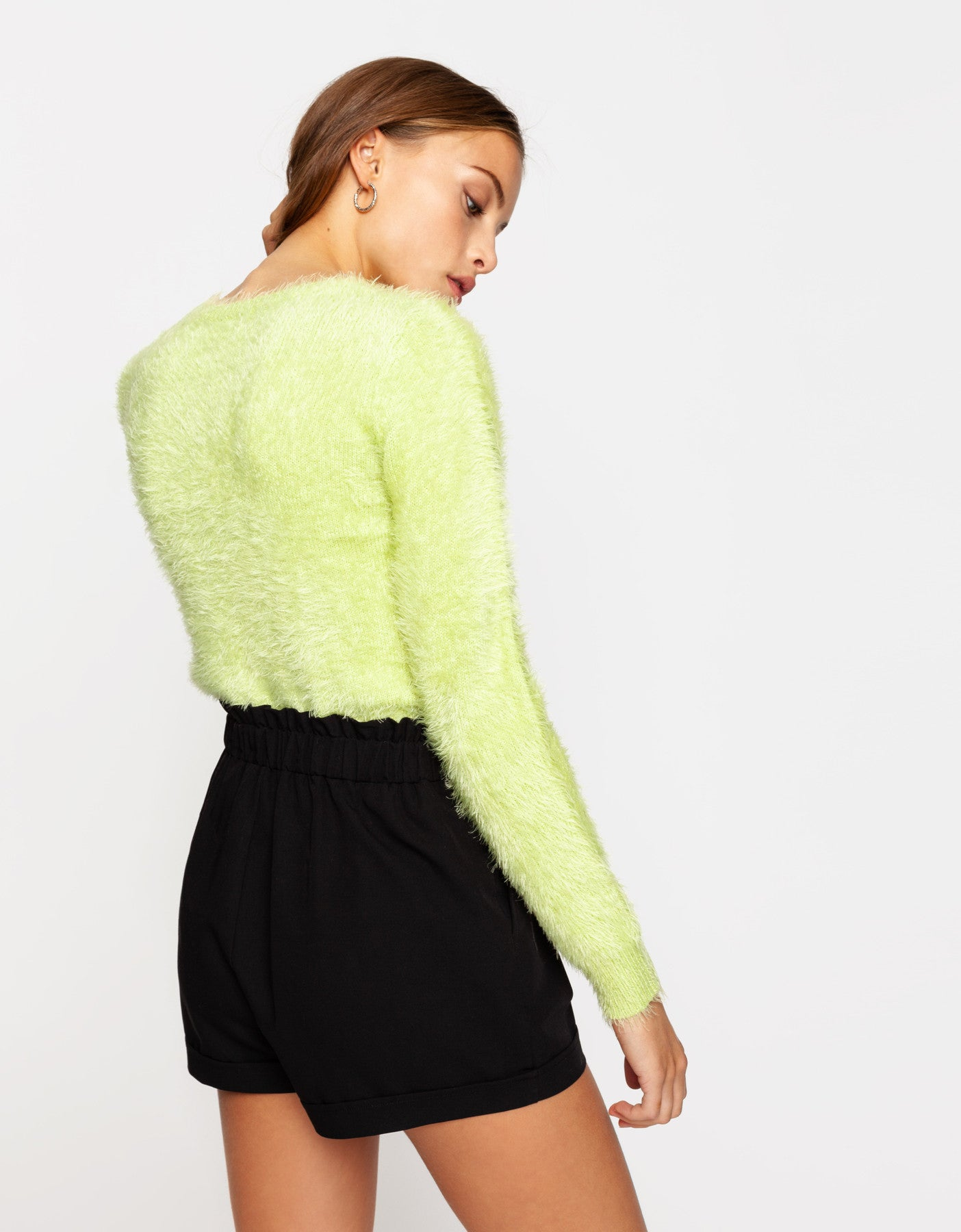 Fluffy Jumper | Evening Primerose