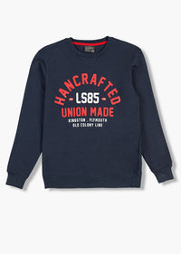 Sweatshirt  | Navy