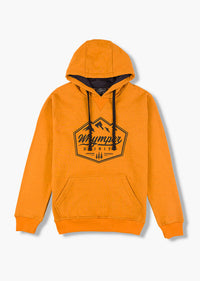 Hooded Sweatshirt  | Mustard Melange