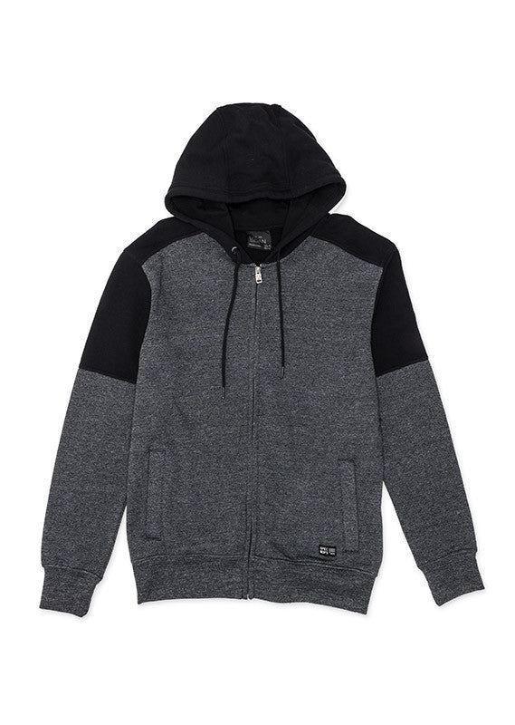 Zip Hood Jacket | Black