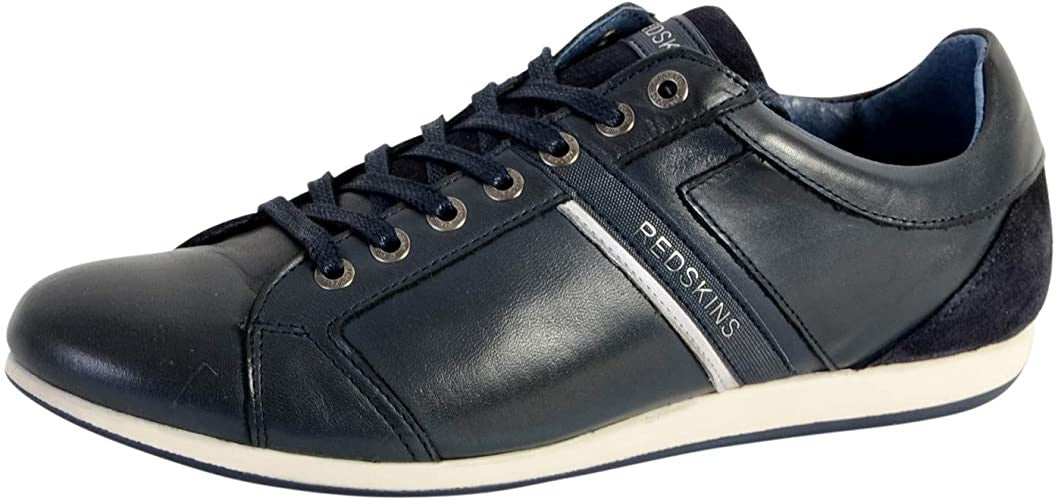 Men's Leather Shoes  | Navy