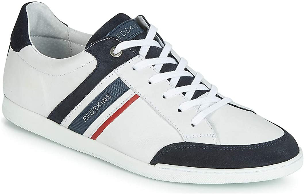 Men's Leather Sneakers | White
